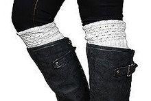 Ivory Rhinestone Boot Cuff www.mycrickets.com