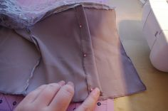 Satin'N'Lace Corset Dress Tutorial: Part 1