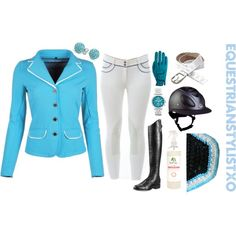 Requested Blue Jumper by adastaley on Polyvore featuring Ariat, FOSSIL, Shamballa Jewels and Roeckl