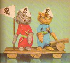The cats pirates..