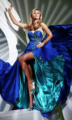 I want this dress for my next Pageant.. I can see it now :)