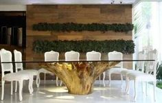 41 Ideas Patio Furniture Rustic DIY Tree Stumps of furniture rnrnSource by Dining Furniture, Rustic Furniture, Diy Furniture, Trunk Furniture, Tree Trunk Table, Root Table, Rustic Patio, Tree Roots, Glass Table