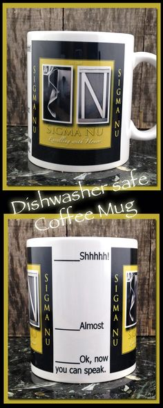Sigma Nu, Fraternity, College, Coffee Mug