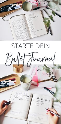 Auf in high fashion laune erzähle ich euch was ein Bullet Journal ist, was ihr dazu braucht und wie ich meine Seiten fülle, damit ihr ganz einfach euer eigenes Journal starten könnt. > Mehr lest ihr auf dem Blog > Bullet Journal Inspiration, High, English Study, Bujo, Journaling, Crafts, Craft Ideas, Organization, Simple