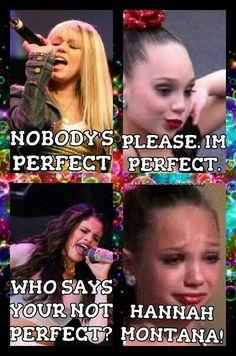 Dance moms- selena gomez- Hannah Montana comics
