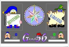 """""""Grado 56"""" (Juego multidisciplinar de 5º y 6º de Primaria) Online Gratis, Map, Education, Html, Ideas, Strategy Games, Math Games, Interactive Activities, Educational Activities"""