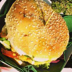 Vegan hamburger! Love it