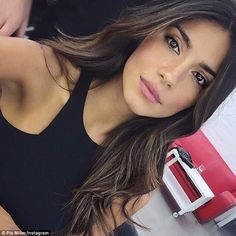 Stunner: Pia, who has been modelling for several years, has become a fan favourite after making her debut on Home And Away earlier this year