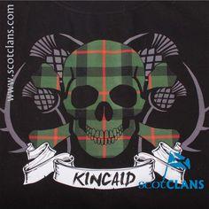 Kincaid Tartan Skull