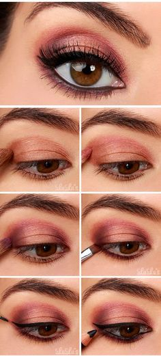 Rose Gold Eyeshadow Tutorial