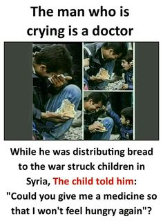 Pray for Syria. All the innocent children, the elderly, may the end of your journey will be in Paradise. Paradise where no one will cry and suffer. That is your reward Real Life Quotes, Reality Quotes, True Quotes, Funny Quotes, Real Life Heros, Heart Touching Story, Psychology Fun Facts, Interesting Facts About World, Wow Facts