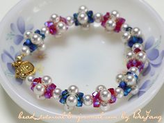 bead_tutorial: [Tutorial] Crystal Bracelet #21