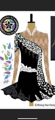 Irish Dance, Dance Dresses, Peplum, Tops, Women, Fashion, Moda, Fashion Styles, Veil
