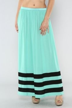 Stripe Chiffon Skirt Member's Price $48 Shipping FREE Join today