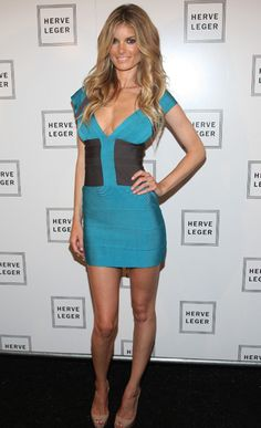 Marisa Miller Photos - Model Marisa Miller attends the Herve Leger Spring 2010 Fashion Show at the Promenade at Bryant Park on September 2009 in in New York City. - Marisa Miller Photos - 753 of 1193 Marisa Miller Hot, Herve Leger Dress, Girls In Mini Skirts, Gorgeous Blonde, Colorblock Dress, Urban Outfits, Dress Me Up, Sexy Dresses, Dresser