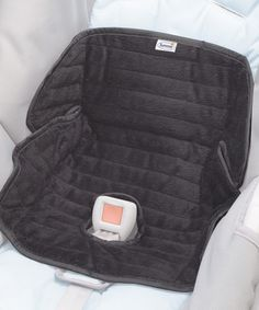 Look at this #zulilyfind! Black Deluxe Piddlepad® for Car Seats & Strollers by Summer Infant #zulilyfinds