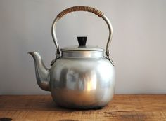 Vintage Tea Pot - Made in Japan Teapot Tea Kettle. $17.00, via Etsy.  I have this one with the infuser. It was my great grandmother's.