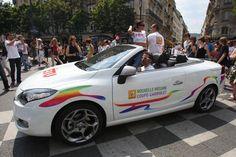 Megane Têtu Renault à la marche des fiertés 2011