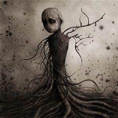 Femme Arbre by *monstror Digital Art / Drawings / Macabre & Horror Dark Fantasy Art, Dark Gothic, Gothic Art, Arte Horror, Horror Art, Pics Art, Art Pictures, Horror Pictures, Eric Lacombe