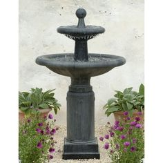 Great Free Shipping And No Sales Tax On The Natchez Tiered Garden Water Fountain  From The Outdoor Gallery