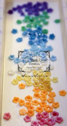 Rainbow Rosemary Soap available in May Magic Soap Box | #soapbox #magicsoapbox #sorcerysoap
