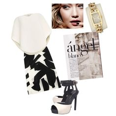 #27 by kw1110 on Polyvore featuring polyvore fashion style Delpozo Emanuel Ungaro KG Kurt Geiger Versus Tom Ford