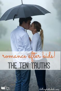 Has your love life suffered after having kids? You're not alone! Here are the ten truths about a married couples sex life after kids!