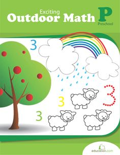 Children learn early math by dealing with objects in place of numbers. These worksheets cover concepts of quantity, counting, and even adding and subtracting, using animals and nature to help teach.
