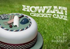 Any cricket fan would be bowled over by this sporty celebration cake. The colour scheme could easily be changed to different team colours if the recipient isn't an England fan. Cricket Birthday Cake, Cricket Theme Cake, England Fans, Cupcake Cakes, Cupcakes, Celebration Cakes, Themed Cakes, How To Make Cake, Party Themes