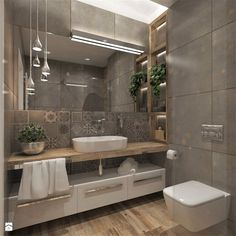 Als Ergebnis der Essenz des Bad… 37 Awesome Small Master Bathroom Makeover Ideas. As a result of the essence of the bathroom … –… Bathroom Design Luxury, Modern Bathroom Design, Contemporary Bathrooms, Luxury Bathrooms, Dream Bathrooms, Bath Design, Bathroom Designs, Bad Inspiration, Bathroom Inspiration