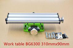multifunction mini table bench vise bench drill milling machine stent BG6300 1pcs