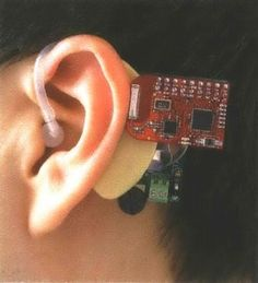 Ear-worn heart monitor prototype - may be smart watch in later versions. Collects in real time half million vital sign data points per day. Device is being validated at Massachusetts General Hospital and Brigham and Women's hospital. By MIT startup Quanttus