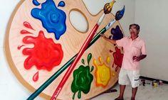 Robson Trindade / Pinturas e Desenhos Artísticos  /  Eu, Robson Trindade, participei da 1ª Exposição de Pintura de Brumado (BA.) no ano de 1979 na Biblioteca Municipal de Brumado   #Brumado #Bahia #Brasil
