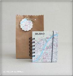 Si quieres preparar un viaje, anotar todos los sitios que vas a visitar, escribir tus impresiones una vez allí... esta es la mejor opción. Libreta de notas ideal para llevar siempre encima.