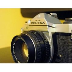 Pentax K-1000 was my first camera. I loved its focus and light meters.