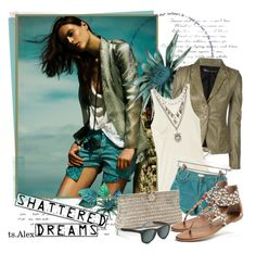 """Shattered"" by ts-alex ❤ liked on Polyvore"