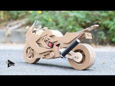 How to make Toy Motocycle(BMW F800GT) - Amazing Cardboard DIY - YouTube