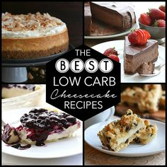 The Best NEW Low Carb Cheesecake Recipes
