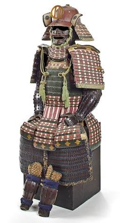 An unusual green-lacquer armor with a nuinobe do Edo period, 19th century
