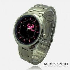 New Roxy Crumble Logo Style Sport Metal Watch Rare