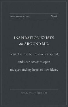 23 Daily Affirmations for Creatives   Sarah Ann Design