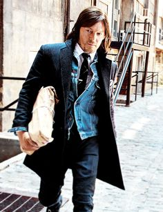 Norman Reedus for GQ Magazine