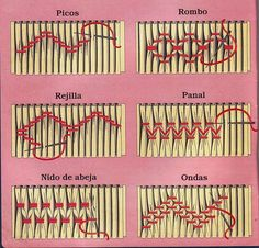 6 types of embroidery stitches on smocking Smocking Baby, Smocking Plates, Smocking Patterns, Sewing Patterns, Dress Patterns, Coat Patterns, Hand Embroidery Designs, Embroidery Stitches, Embroidery Patterns