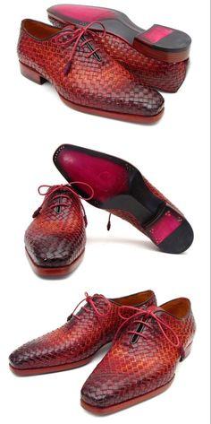 Men's Shoes, Shoe Boots, Dress Shoes, Red Lace, Lace Up, Gentleman Shoes, Purple Hands, Dream Machine, Oxfords