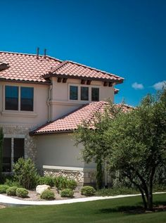 Best Exterior Paint Colors For Small Stucco Home With Orange Tile Roof Google Search Forest 400 x 300