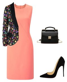 """moda evangelica"" by gesiane-saves on Polyvore featuring moda, Finesse, Moschino e Christian Louboutin"
