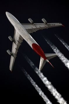 Beautiful Lines — superbird-nacelles:   Qantas 747