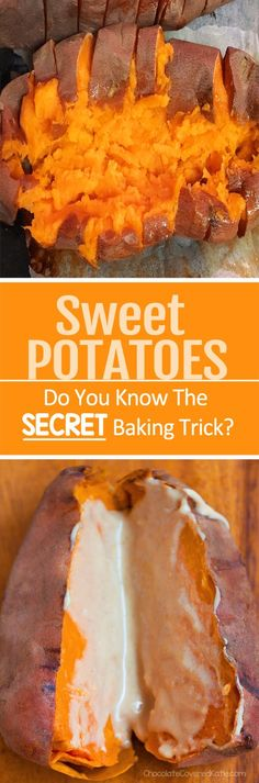 You'll never bake sweet potatoes any other way after trying these three tricks!