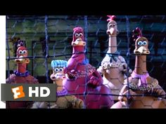 Julia Sawalha, Building A Chicken Run, Chicken Runs, Clean Chicken, Imelda Staunton, Save The Last Dance, Classic Trailers, Movies Coming Soon, Dancing Cat