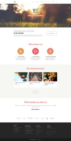 Yes! | Multi Purpose Template  Details: http://themeforest.net/item/yes-multi-purpose-psd-template/9646735